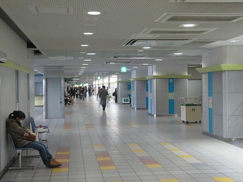 京都競馬場の2階