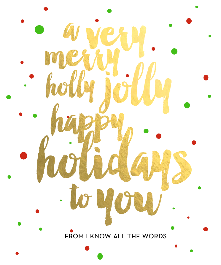 blog holiday greeting