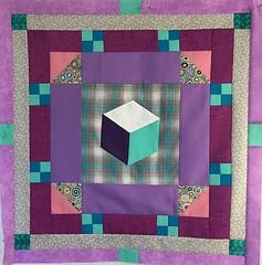 tumblingblock #2 quilt -96