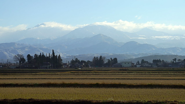 Tateyama mountain range