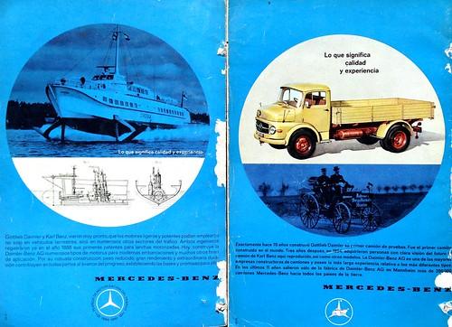 Mercedes-Benz 75 años - 1961 (Mecánica Popular)
