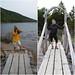 The bridge from Jordan Pond by daveynin
