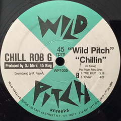 CHILL ROB G:DOPE RHYMES(LABEL SIDE-B)