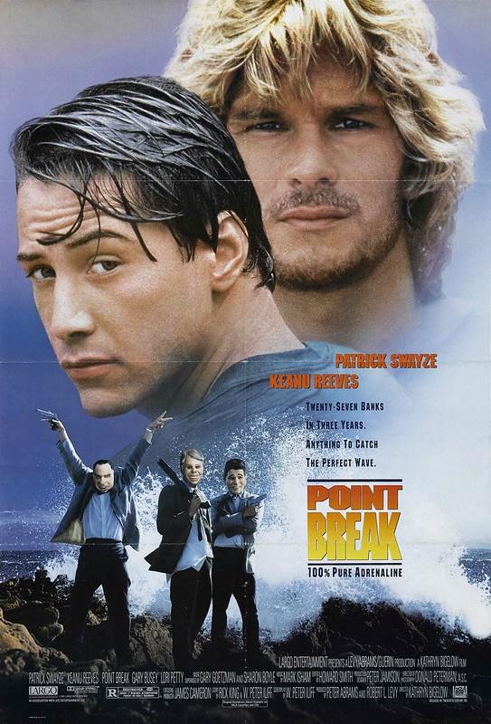 Point Break - 1991 - Poster 1