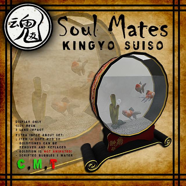 [Soul Mates] Kingyo Suiso Ad