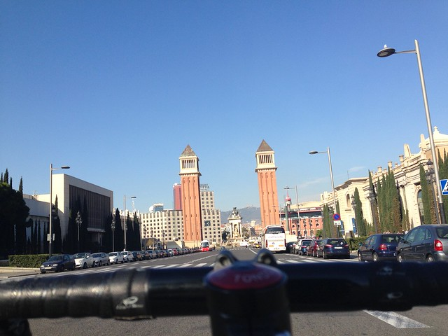 Montjuic fixed gear barcelona