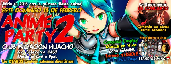 Anime Party 2 Huacho
