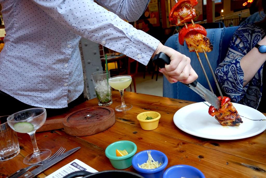 Cabana Brixton - Spice Malagueta Chicken Skewer