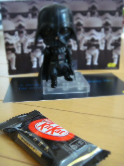 vader wants KitKat