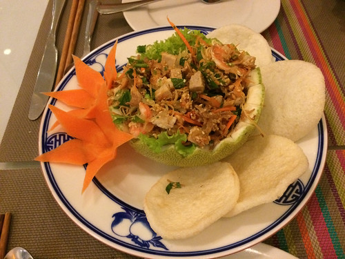 Hué: salade de pamplemousse