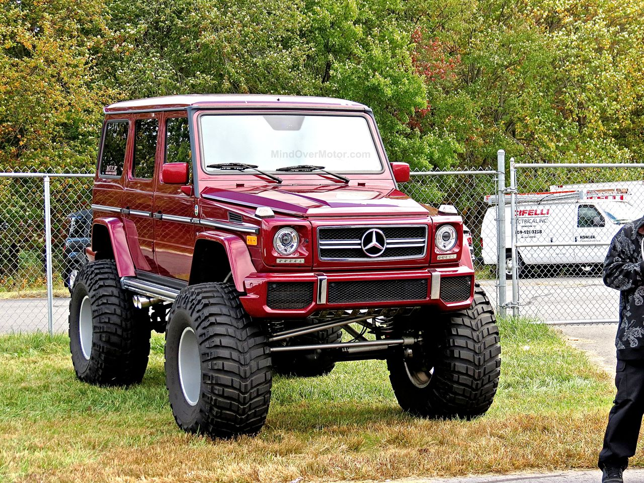 Mercedes G63 AMG Monster Truck First Class Fitment