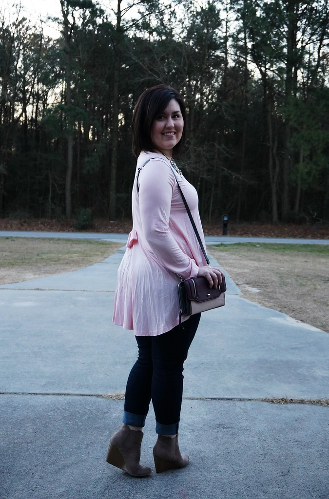 Pink Top for Valentine's Day 2