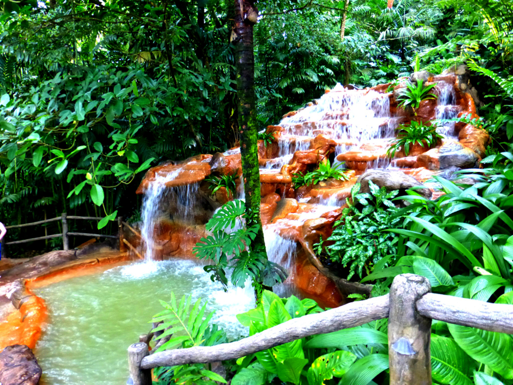 Isolated Pool at the Springs Spa Costa Rica