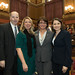 Rep. David Labriola, Kim Kiernan, chair of the Naugatuck RTC, Catherine Ernsky, vice chair of the PCSW and local business owner, and Rep. Rosa Rebimbas during the opening day of the 2016 legislative session on Wednesday, February 3rd.