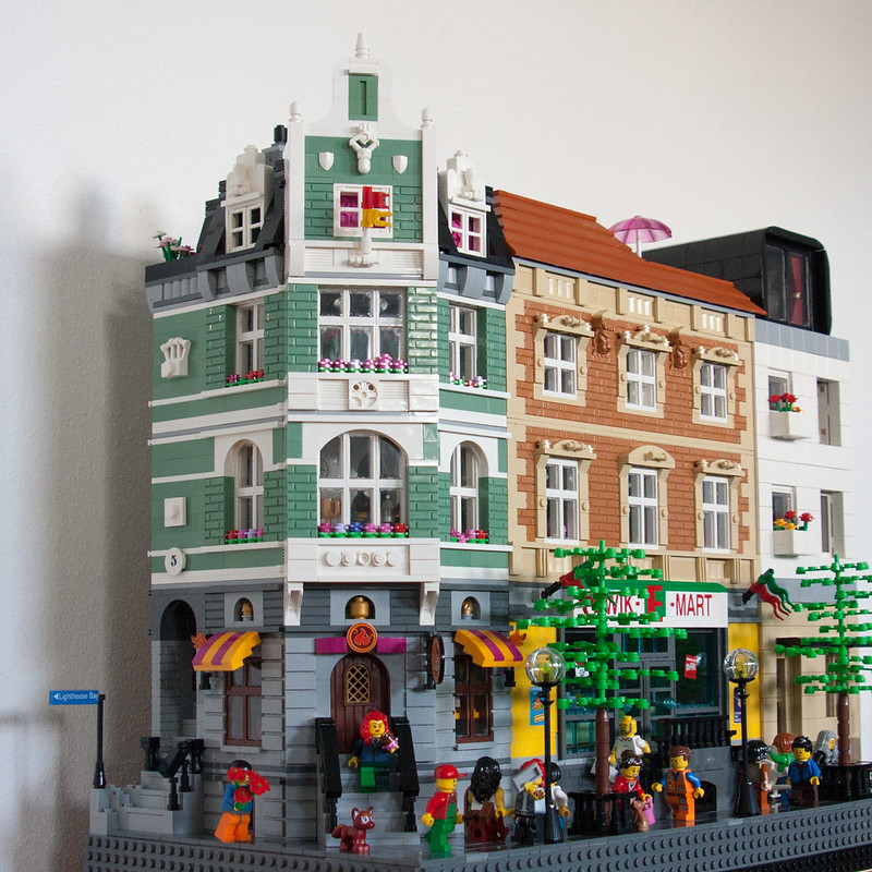 Lego bei 1000steine de gemeinschaft forum 3 modulare häuser