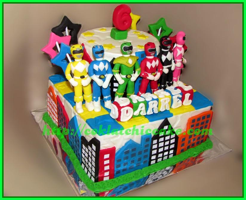 Cake Power Ranger