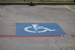 2014-04-15 STAR-Burger King Handicap Parking - DSC03513