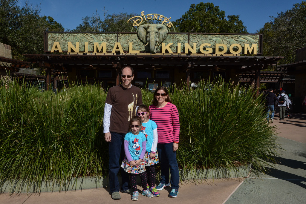 Family pic at Animal Kingdom