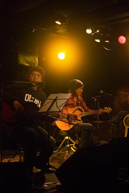 渡辺繁和 with モトイ live at Outbreak, Tokyo, 10 Mar 2016. (7)-00013