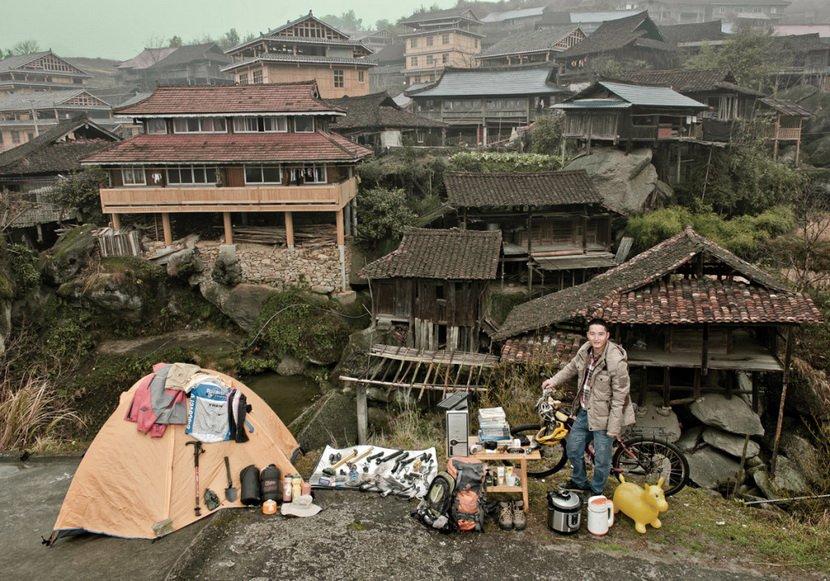 網購家當︰中國偏遠居民在淘寶買的所有物10