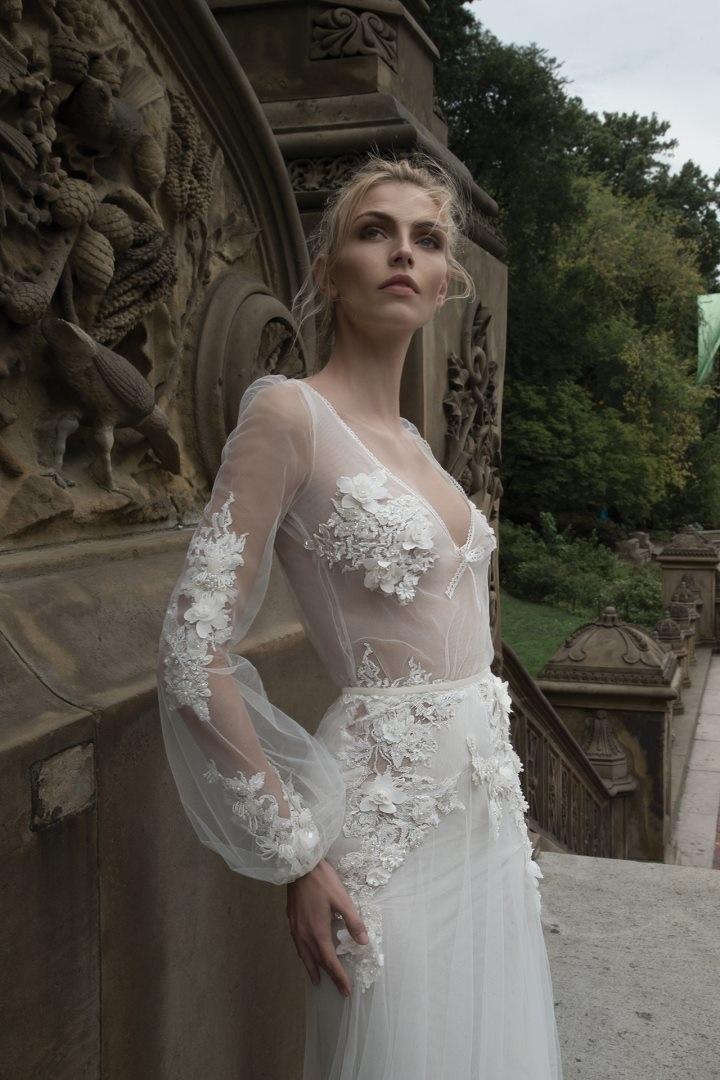 Inbal Dror 2016 Wedding Dresses - Mermaid long sleeves wedding dress | itakeyou.co.uk
