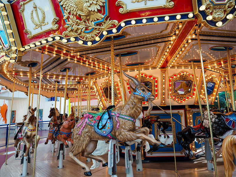 Mall of America carousel