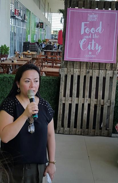 Carmina Mapa Del Rosario | Davao Gourmet Collective 2016: Food and the City at SM Lanang Premier - DavaoFoodTripS.com