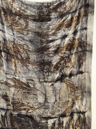 06.Mar.16 Natural dye pieces by India Flint in Poet's Ode store