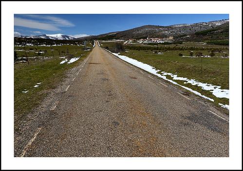 Carretera de Salas de los Infantes (Burgos) a Nájera (La Rioja)