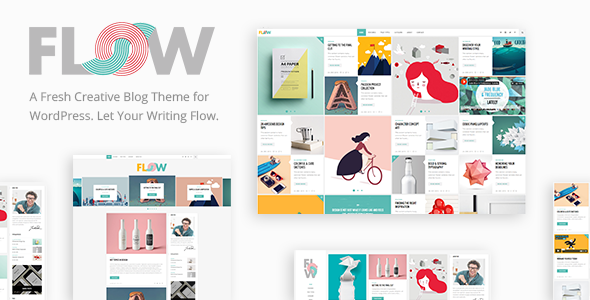 Flow v1.3.6 – A Fresh Creative Blog Theme