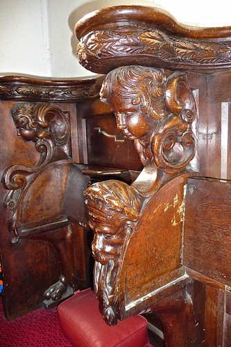 Church Gresley, St George & St Mary - Misericords