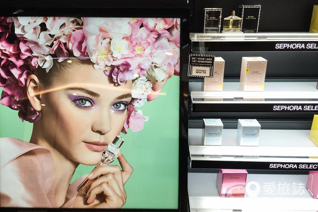 曼谷必买彩妆品牌Sephora 21