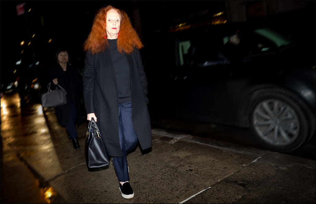Grace Coddington  NYFW  2-2016