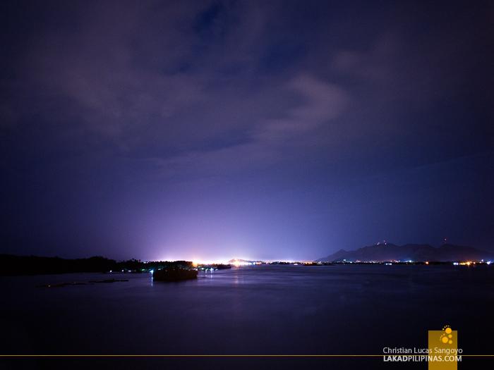 San Juanico Bridge Tacloban Night
