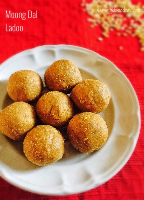 Moong dal Ladoo Recipe for Toddlers and Kids4