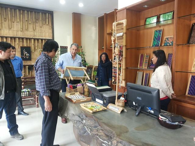 01. Ranjit Barthakur with Aochuba Yanger at Bamboo Emporium, Dimapur on 080216