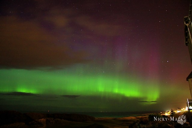 Aurora Lossiemouth 7th April 2016
