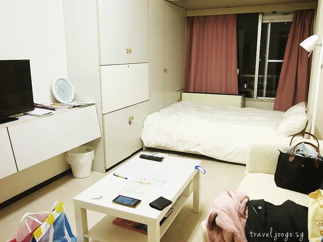 Airbnb in Tokyo Shinjuku - travel.joogo.sg