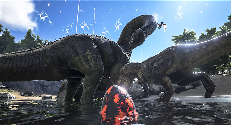 In Arrivo Su Ps4 Il Fenomenale Gioco Di Combattimenti Tra Dinosauri