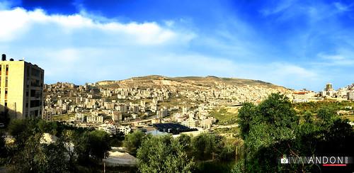 city landscape palestine nablus