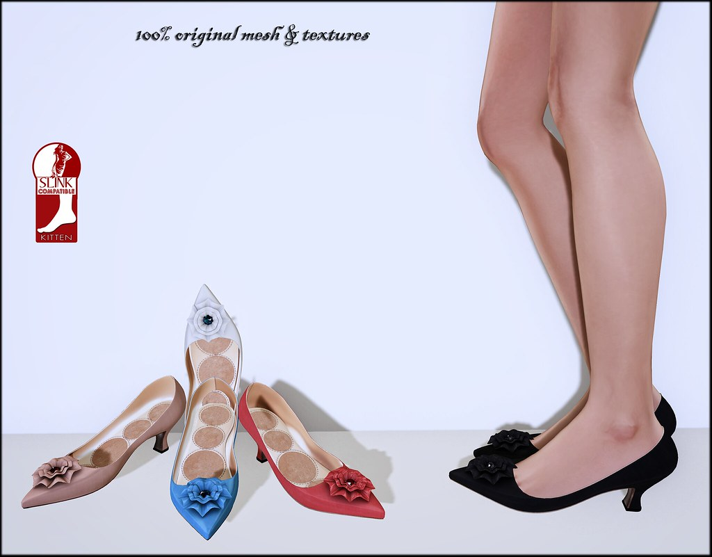 Dorothy by ChicChica exclusively for new Kitten Slink Feet