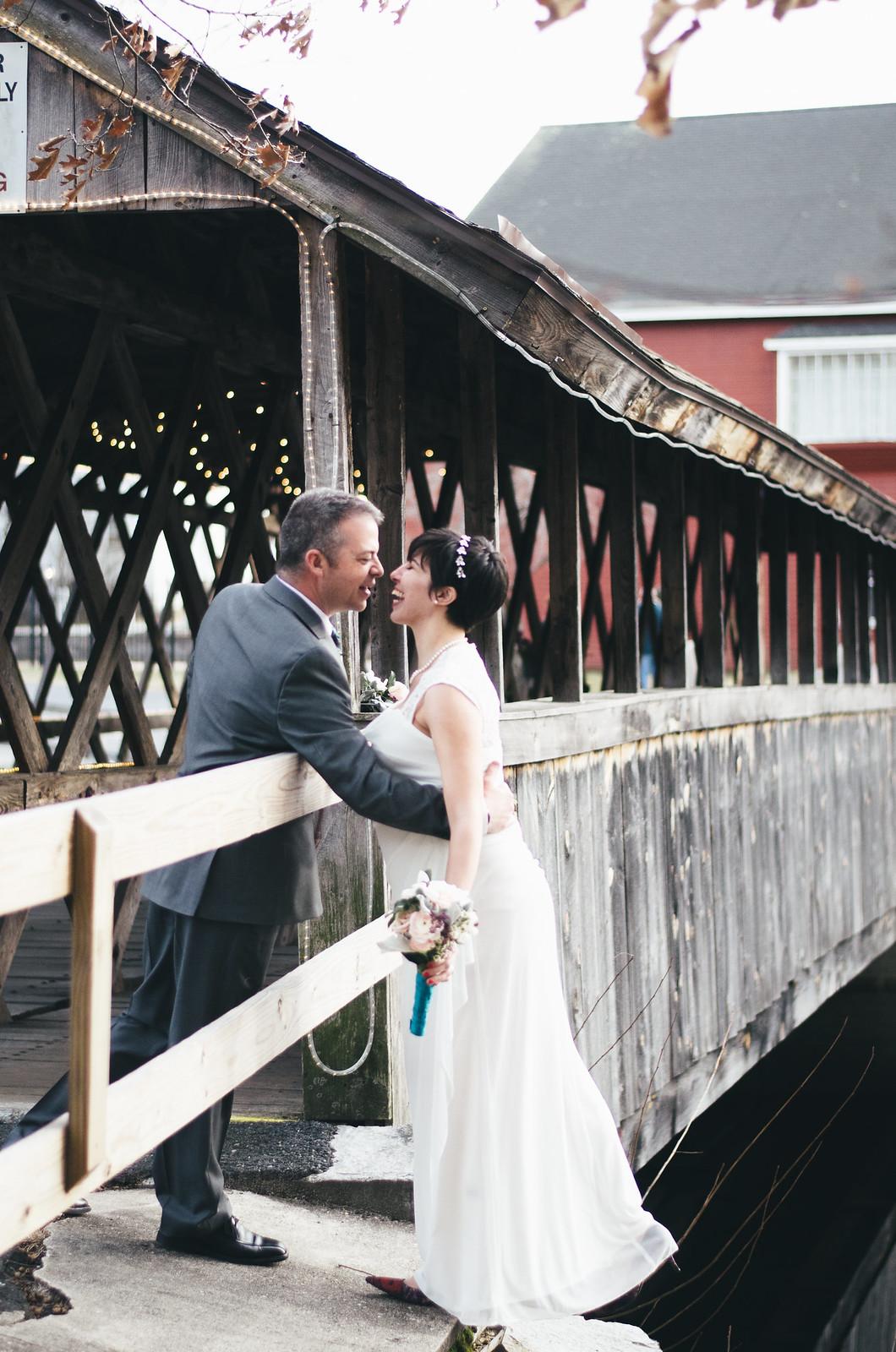 Covered Bridge Wedding on juliettelaura.blogspot.com