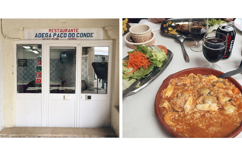 Coimbra arroz peixe
