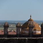 Vistas desde la catedral, en Évora