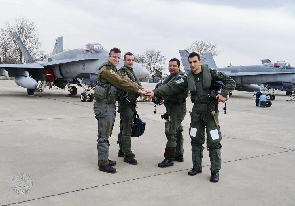 Aspect de la exercițiul bilateral româno-canadian se află în plină desfășurare la Baza militară de la Mihail Kogălnicean (19)