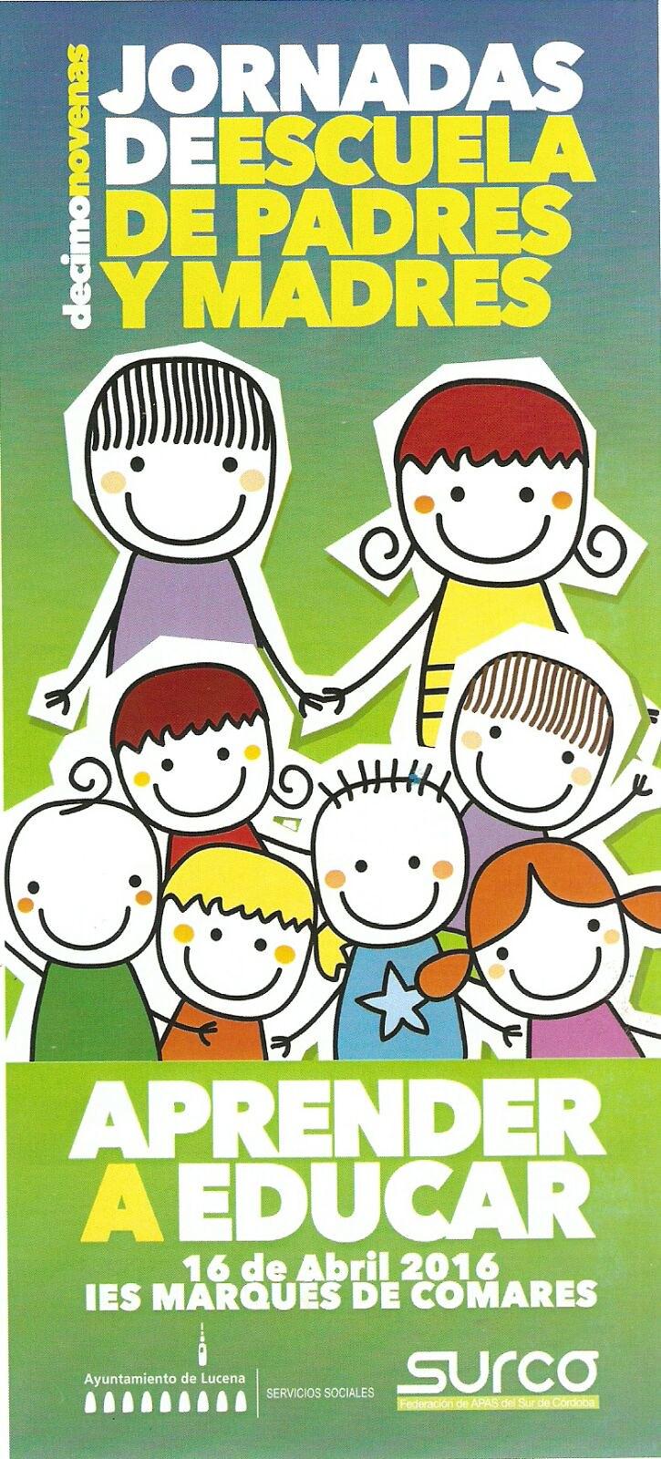 XIX  Jornadas de escuela de Padres y Madres