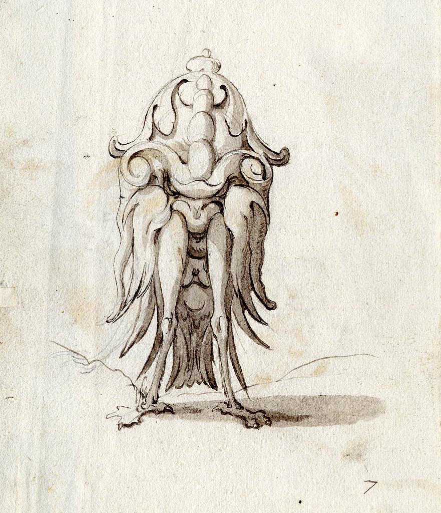 Arent van Bolten - Grotesque Creatures 21, 1588-1633