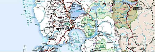 Cuenca del río Maullín desde el lago Llanquihue hasta el océano Pacífico, en la región de Los Lagos