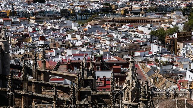 Messy, fascinating rooftops of Sevilla [Explore 28-04-2016 ! ]