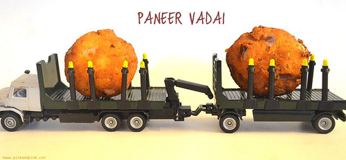 Paneer Vadai - Healthy Indian After school snacks recipe - Kids paneer recipe